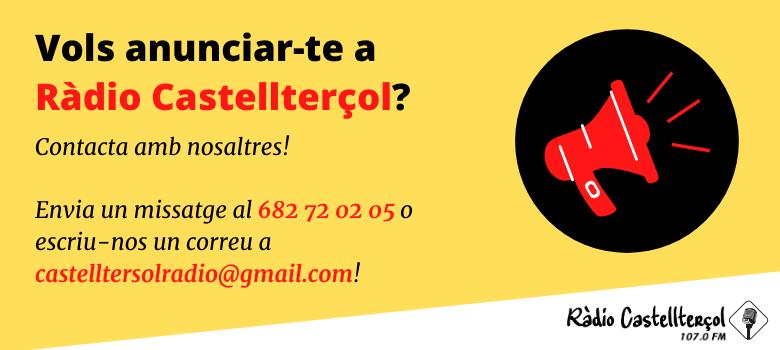 Contacta amb nosaltres!